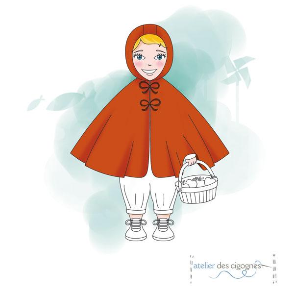 Patron couture Cape - Bébé/Enfant