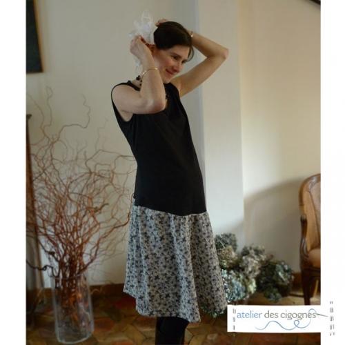 Patron couture grossesse - Robe de grossesse à volants