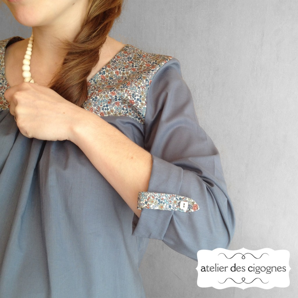 Patron couture Blouse - Cyrène