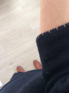 """Patron couture Pull Innsbruck d'après livre de couture """"Ma garde-robe de grossesse"""""""